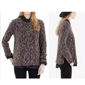 Madewell Firelight Marled Pullover Wool Sweater